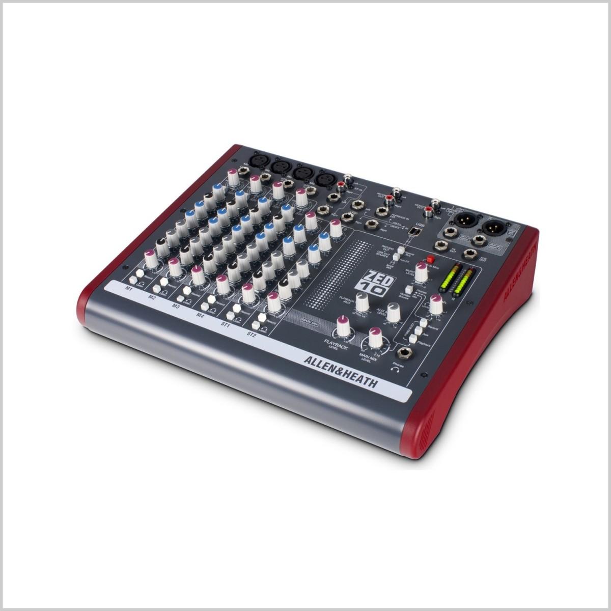 Live-Mixer Allen & Heath ZED10